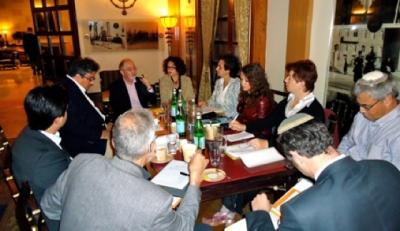 Assemblée constituante du GIS en avril 2011 à l'hôtel King David de Jérusalem (photo : privée)