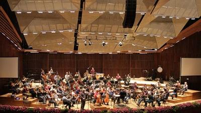 L'orchestre philarmonique d'Israël (photo : Jennifer Bligh)