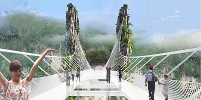 L'infrastructure en verre de 'Haïm Dotan devrait également accueillir des défilés de mode (photo : 'Haïm Dotan.