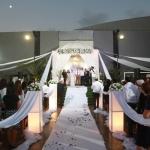 Un mariage en Israël sous la houpa traditionnelle (Photo : privée)