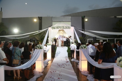Un mariage en Israël sous la houpa traditionnelle (Photo : privée)