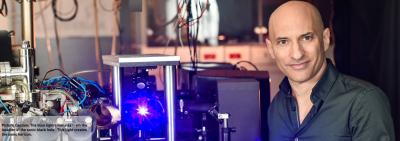 Hawking recevra-t-il un prix Nobel grâce à l'Israélien Dr Jeff Steinhauer du Technion à Haïfa ? (photo : Technion)