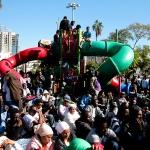 Manifestation demandeurs d'asile en provenance d'Erythrée dans le sud de Tel-Aviv (photo : Rudychaimg/Wikimedia).