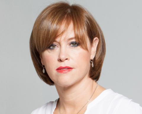 La présidente de la banque Leumi, Rakefet Russak-Aminoa'h, fait partie des femmes les plus influentes du monde (photo : Banque Leumi)
