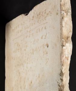 La plus ancienne table des dix commandements qui soit connue vient d'être vendue aux enchères (photo : Heritage Auctions).