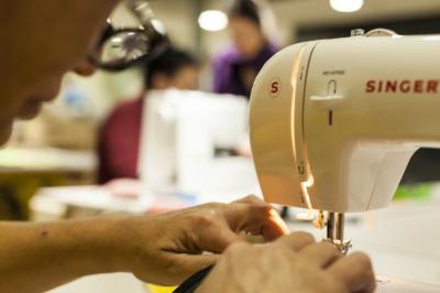 La société A.I.R. offre de nouvelles perspectives – la création de produits concrets est pour beaucoup une toute nouvelle et formidable expérience (photo : A.I.R.)
