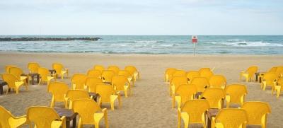 La plage de Tel-Aviv fait partie des paysages préférés d'Ido Biran (photo : Ido Biran)