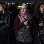 """Les trois protagonistes du film """"Bar Bahar – in Between"""" ne correspondent pas au cliché que les conservateurs ont des jeunes Arabes (photo : Festival du film de Haïfa)"""