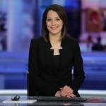 La première journaliste druze de télévision, Ghadir Kamal Meriach (photo : Channel 1 Facebook)
