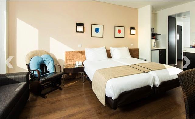 Après les chambres spartiates de l'hôpital, le séjour dans un tel hôtel est un véritable plaisir (photo : Babylis Tel Aviv)