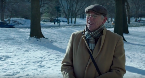 Richard Gere en Norman Oppenheimer (photo: capture d'écran Youtube.com)