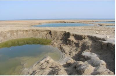 D'ici 2050, la mer Morte aura totalement disparu si rien n'est fait pour la sauver (Photo : Doron/Wikimedia Common)