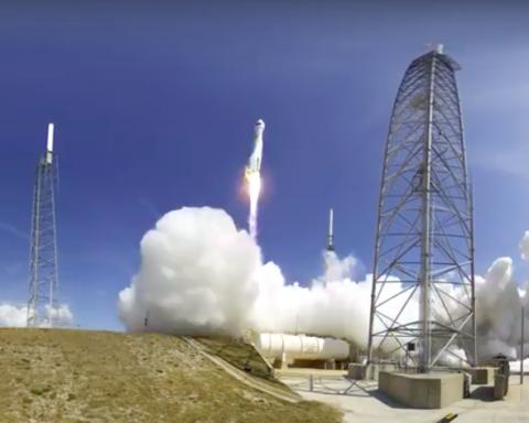 """3, 2, 1 lancement réussi ! """"Duchifat 2"""" s'envole dans l'espace (photo : capture d'écran Youtube.com )"""