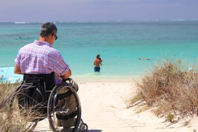 Il est maintenant plus facile aux personnes en fauteuil roulant de visiter Israël (photo : pixabay.com).