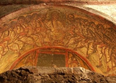 Représentation de Jésus et des douze apôtres (photo : Wikimedia Commons, CC-BY-SA3.0)