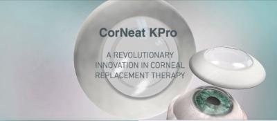 La cornée artificielle permettra de rendre la vue à des millions de personnes (photo : CorNeat.com)