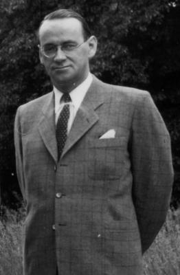 Carl Lutz en 1944 (FORTEPAN / ARCHIVES POUR L'HISTOIRE CONTEMPORAINE ETH ZURICH / AGNES HIRSCHI)