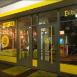 Succursale de change des Bitcoins sur Dizengoff à Tel-Aviv (photo : Andrea Rosen)