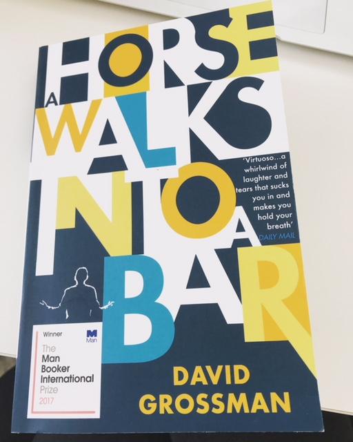 Couverture du dernier roman de David Grossman traduit en anglais (photo: KHC)