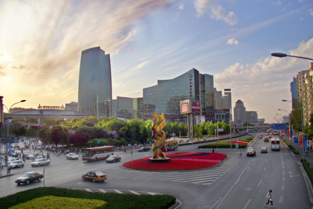 Le parc Z à Beijing va ouvrir sous peu son premier bureau de liaison à Tel-Aviv (photo : Charlie Fong/Wikimedia)