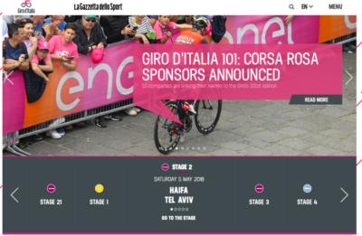 Durant trois jours le Giro d'Italia passera par Israël (photo : Pexels.com)