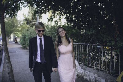 Comme ils ne pouvaient pas se marier en Israël, Enno Raschke et sa femme Alona se sont mariés civilement à Chypre (photo : privée)