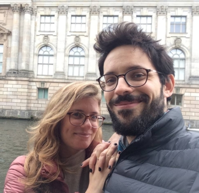 Raaya et son mari Youval pourraient se marier en Israël - mais ne le veulent pas (Photo : privée)