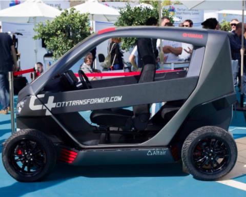 Le City Transformer est une voiture urbaine spéciale (photo : site Internet de Citytransformer.com).