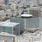 Hôpital I'hilov de Tel-Aviv, également appelé centre médical Sourasky (photo : Gellerj, Wikimedia Commons)