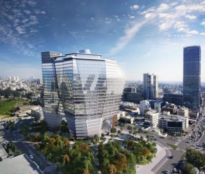 L'immeuble ToHA à Tel-Aviv (photo: site Internet de Ron Arad Associates)