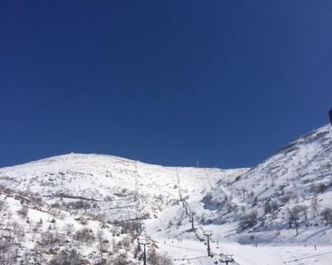 La plupart des gens ignorent qu'en Israël il est également possible de skier en hiver (photo : KHC)