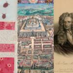 La bibliothèque nationale israélienne présente une exposition numérique de l'histoire de la teinture des tissus, de la cartographie et d'écrits de Newton (photo : bibliothèque nationale israélienne)