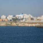ol Arkia en provenance d'Eilat arrivant à l'aéroport Sdé Dov de Tel-Aviv (photo : Ori~Wikimedia Commons).
