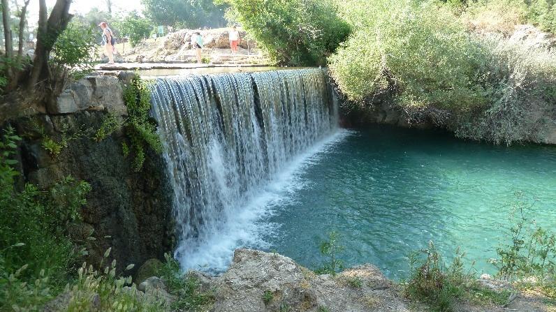 Sources Sachne dans le parc national de Gan HaShlosha - photo: GIS.