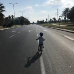 aire du vélo à Yom Kippour : un rêve pour les enfants (photo : privée)