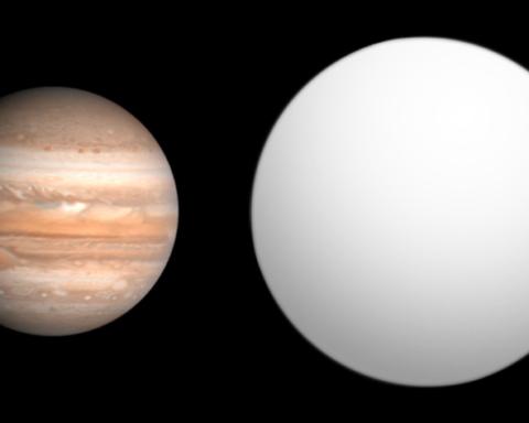 """La planète HAT-P-9b ou """"Aleph"""" (photo : Aldaron, a.k.a. Aldaron/Wikimedia)"""