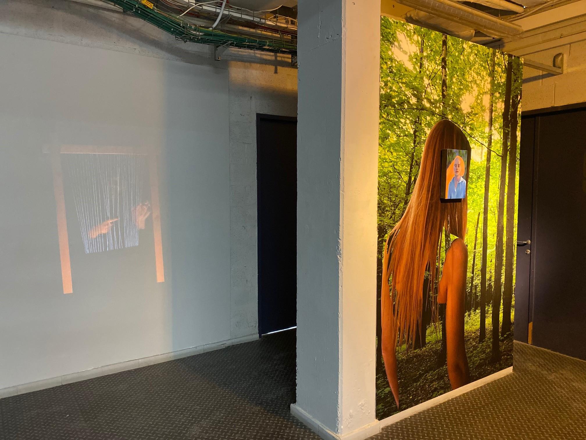 Outre les studios pour les artistes, les Art Cube Artists' Studios disposent également d'une petite galerie (photo : KHC).