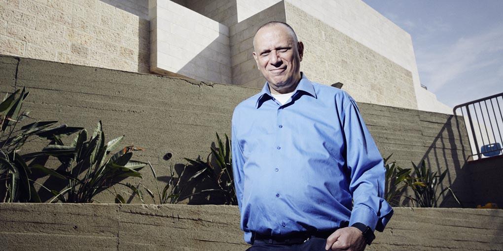 l'inventeur de la clé USB, Dov Moran, en Israël (photo : Katharina Bohm).