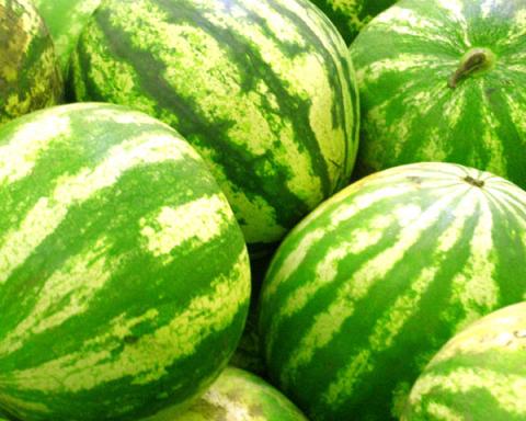 Jusqu'ici, il était impossible de savoir à quoi la pastèque ressemblait à l'intérieur sans l'ouvrir. Une nouvelle application va changer la donne (photo :http://www.mainifrutta.com/de/angurie).