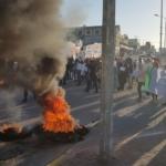 Manifestations des salariés de Teva à Ashdod (photo:Histadrout)