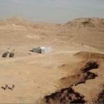 Paysage martien dans le désert israélien du Néguev (photo : Professeur Oded Aharonson).
