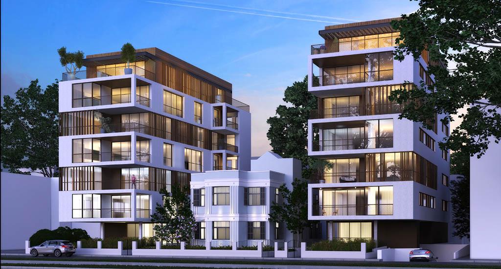 oici à quoi ressemblera la Villa Rothschild une fois terminée (photo : Bar Orian Architects)