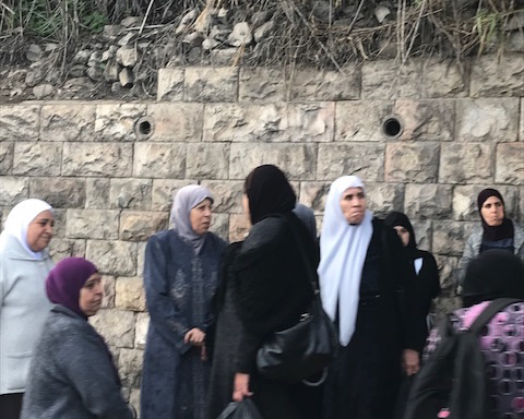 Femmes arabes à Jérusalem (photo : KHC)