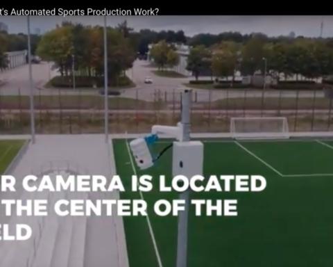La plupart des start up israéliennes spécialisées dans le sport travaillent sur les technologies vidéo, à l'instar de Pixellot avec son système de multi-caméra (photo : capture d'écran du site Internet de l'entreprise)