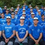 L'équipe nationale israélienne de baseball heureuse de ses succès (photo : Margo Sugarman)