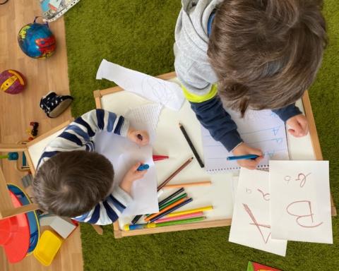 """""""Ecole à la maison"""" – Un programme ambitieux que nous ne pourrons pas appliquer (photo: KHC)."""