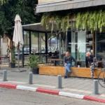 Restaurant fermé sur la rue Dizengoff à Tel-Aviv (photo: KHC).