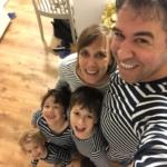 Janne Alexandrovitz essaie de voir le côté positif du confinement en Israël: passer beaucoup de temps sans contraintes d'horaires avec les enfants (photo : privée)
