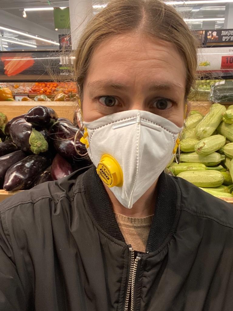 Achats au supermarché à l'heure du coronavirus (photo : KHC)
