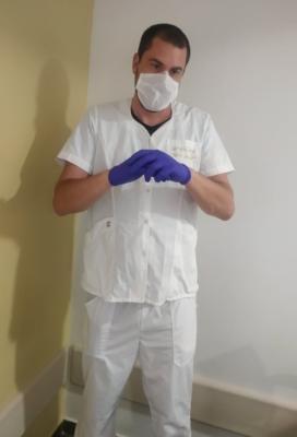 Oliver Vrankovic au travail (photo : privée)